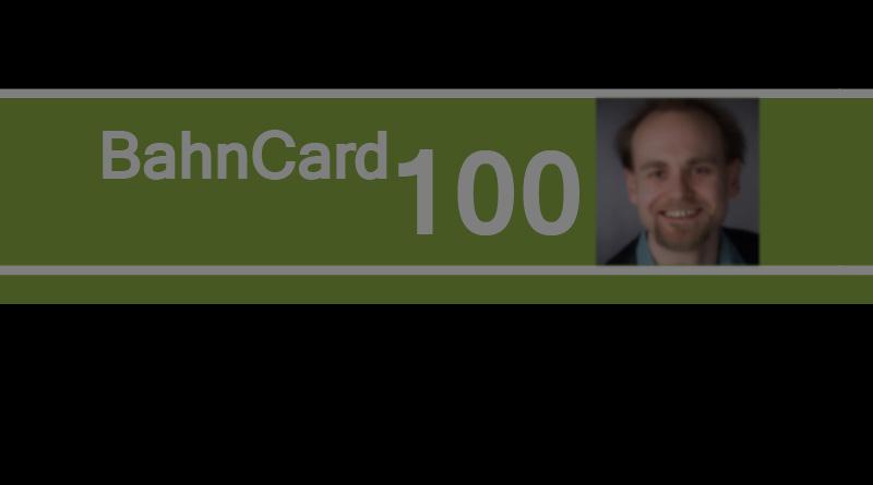 Bahncard 100 Logo